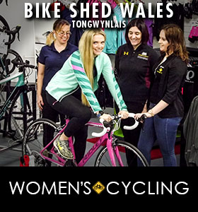 Women's Cycling at The Bike Shed Tongwynlais promotional image