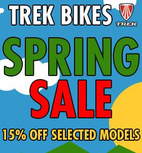 Trek Spring Sale image